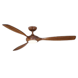 Elan Walnut 60-Inch LED Ceiling Fan