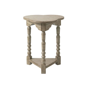 Twilight Bay Gray Bailey Chairside Table
