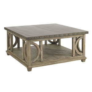 Twilight Bay Gray Wyatt Cocktail Table