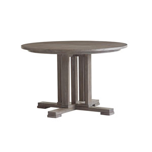 Santana Gray Montrose Round Dining Table