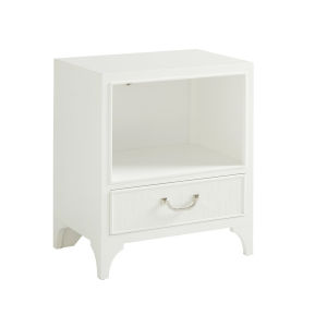 Avondale Linen White Abbey Springs 30-Inch Night Table