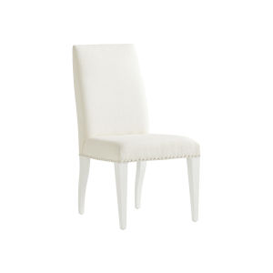 Avondale Linen Linen White Darien Upholstered Side Chair