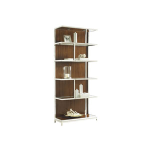 Mirage Brown Kelly Bookcase