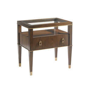 Tower Place Walnut Copley Nightstand