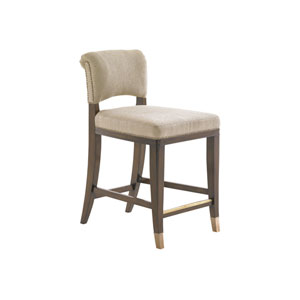 Tower Place Walnut La Salle Counter Stool