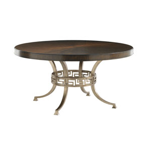 Tower Place Brown Regis Round Dining Table