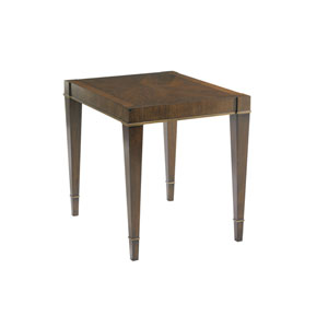 Tower Place Brown Inverness End Table
