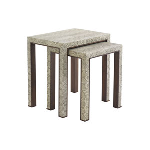 Tower Place Beige Adler Nesting Tables