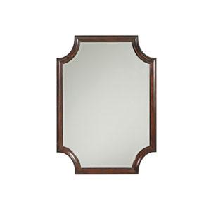 Kensington Place Brown Catalina Rectangular Mirror