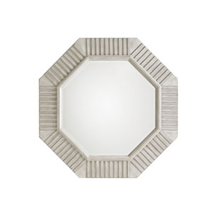 Oyster Bay White Selden Octagonal Mirror