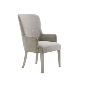 Oyster Bay Gray Baxter Upholstered Arm Chair