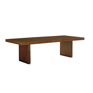 Laurel Canyon Brown San Lorenzo Dining Table