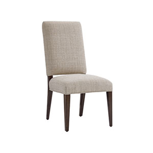 Laurel Canyon Brown and Ivory Sierra Upholstered Side Chair