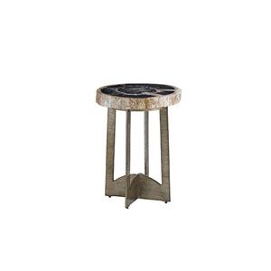 Laurel Canyon Brown Cross Creek Accent Table