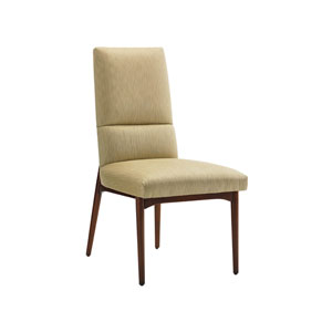 Take Five Gold Chelsea Upholstered Side Chair