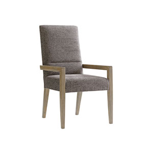 Shadow Play Gray Metro Arm Chair