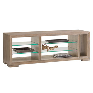 Shadow Play Brown Spotlight Media Console