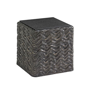 Shadow Play Black Talk Of The Town Cube End Table