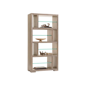Shadow Play Brown Windsor Open Bookcase