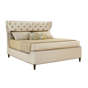 Macarthur Park Tan Mulholland Upholstered King Platform Bed