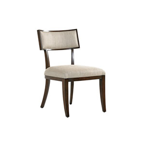 Macarthur Park Beige and Walnut Whittier Side Chair