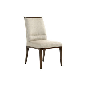 Macarthur Park Beige and Brown Collina Upholstered Side Chair