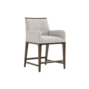Macarthur Park Gray and Brown Getty Counter Stool
