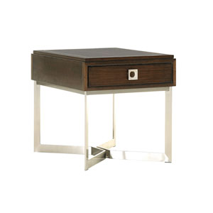 Macarthur Park Brown Culver End Table
