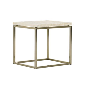 Macarthur Park Gold Marisol End Table