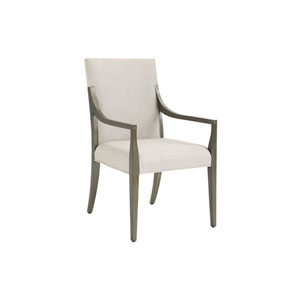 Ariana Beige Saverne Upholstered Dining Arm Chair