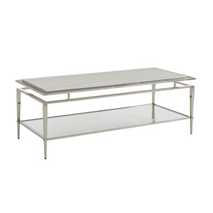 Ariana Silver Athene Stainless Cocktail Table