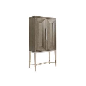 Ariana Brown Cheval Bar Cabinet