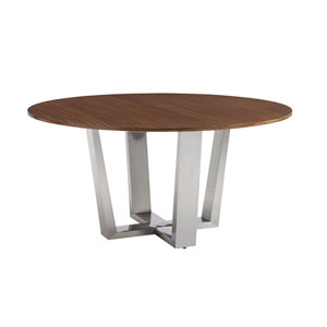 Kitano Brown Mandara Round Dining Table