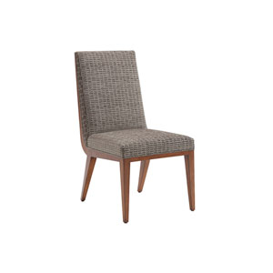 Kitano Gray Marino Upholstered Side Chair