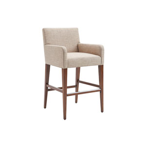 Kitano Ivory Perry Bar Stool