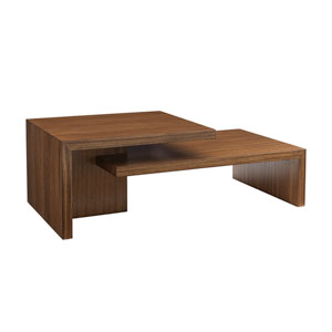 Kitano Brown Cascade Cocktail Table