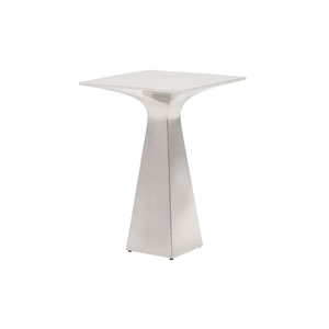 Kitano Silver Sato Stainless Accent Table