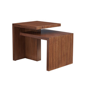 Kitano Brown Cascade End Table