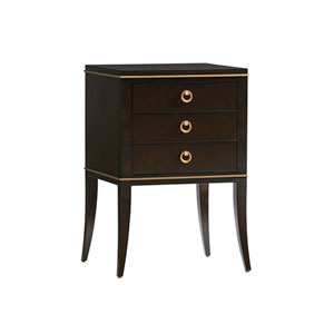Carlyle Dark Brown Bella Night Table
