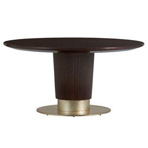 Carlyle Dark Brown Waldorf Round Dining Table