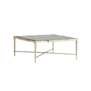 Carlyle Gold Pierre Square Cocktail Table