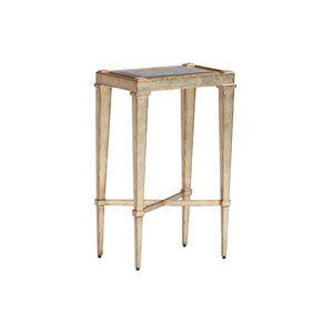 Carlyle Gold Sheldon Chairside Table