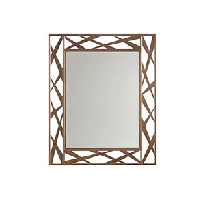 Zavala Gold Arris Metal Mirror