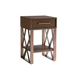 Zavala Brown Cella Night Table