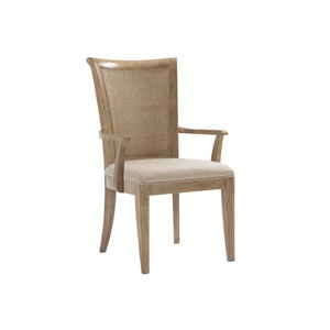 Monterey Sands Brown Los Altos Dining Arm Chair