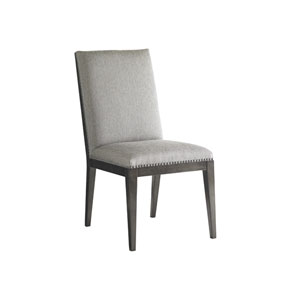 Carrera Light Gray Vantage Upholstered Side Chair