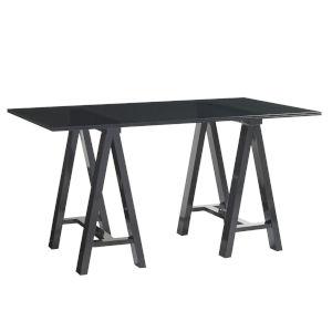 Carrera Carbon Gray Europa Architects 58-Inch Desk