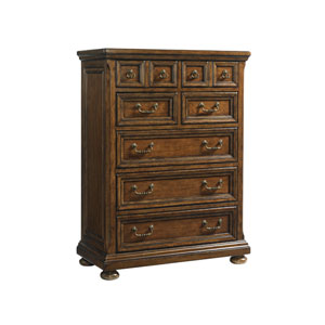 Coventry Hills Brown Ellington Drawer Chest