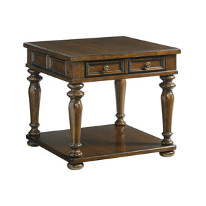 Coventry Hills Brown Fairfield Lamp Table