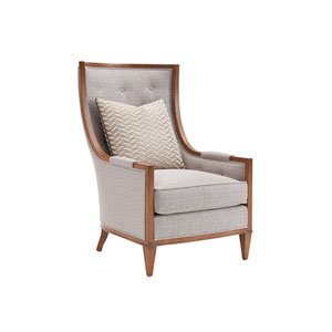 Kitano Light Gray Greenwood Chair